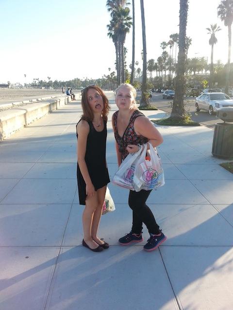 Studera i Santa Barbara, Sandras hälsning!