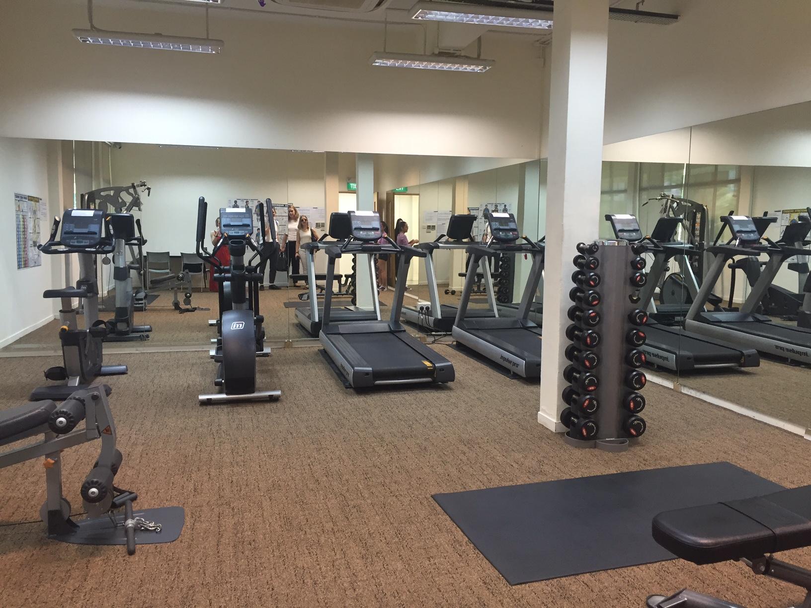 Gym Curtin Singapore