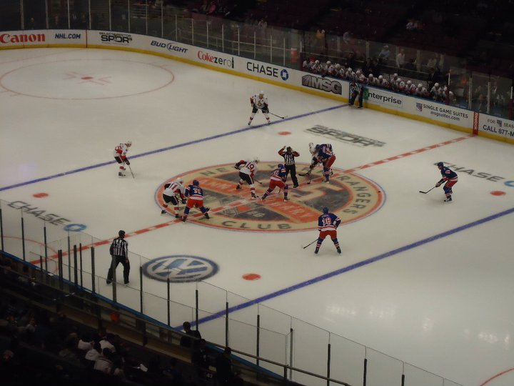 NY Ranger ishockey