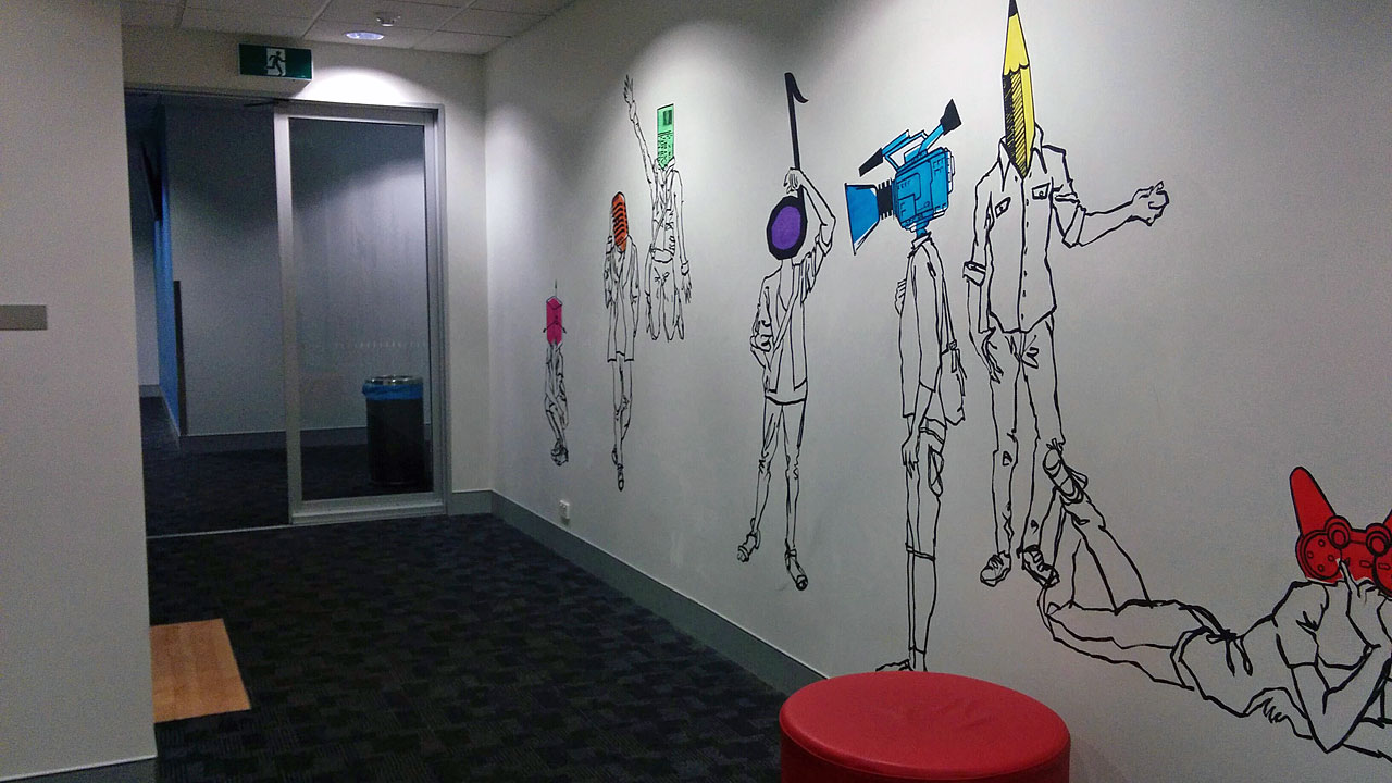 studera digital design australien