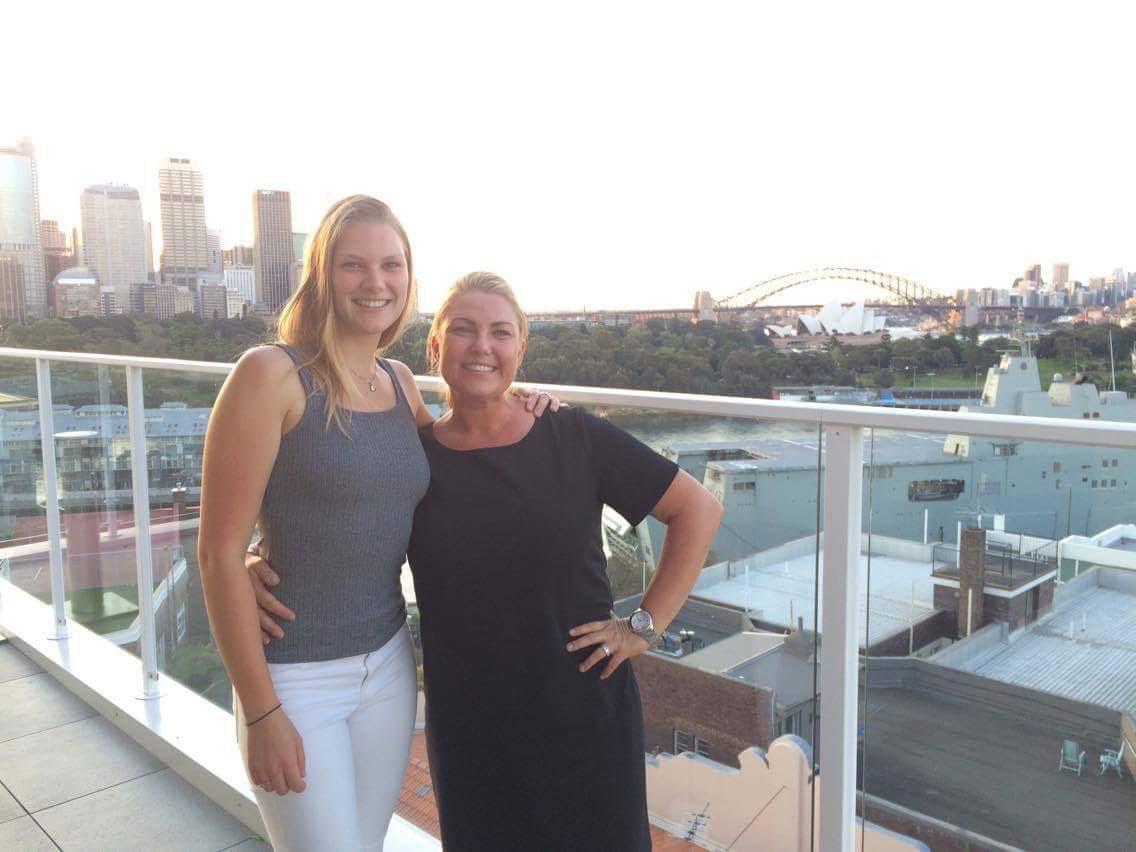 Veronica och Frida studerar i Sydney Australien