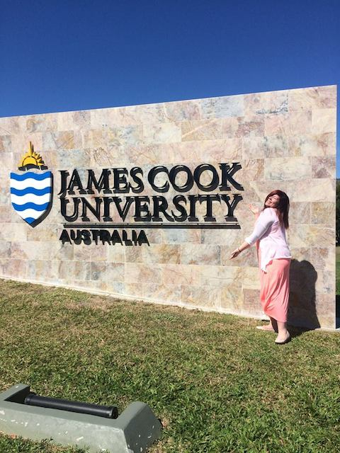 Hälsningar från Emma på James Cook University i Australien