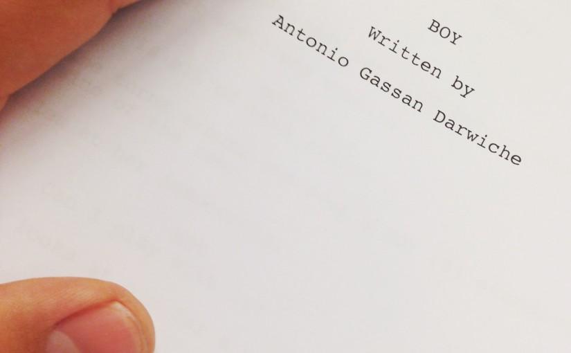 Antonio om sin nya kortfilm – filmstudier i Los Angeles