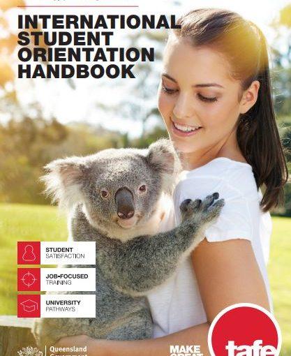Första dagen i skolan på TAFE Queensland